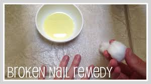 craft home remedy for broken dry nails youtube