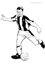 printable soccer coloring page sports coloring pages