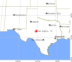 map of san angelo san angelo tx profile population maps real estate