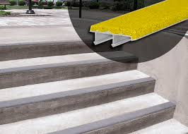 Abrasive Stair Nosing by Wooster Products Inc Wooster Ohio Oh 44691