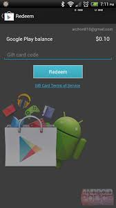 gift cards for play how to redeem play gift cards using the device play store app