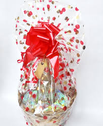 gift basket wrapping gift wrapping basket hers adds value to packaged gifts diy