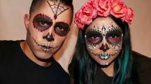 Halloween Skull Makeup Tutorial Sugar Skull Makeup For Men Halloween Tutorial Youtube