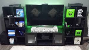 home accessories gorgeous gaming setup ideas with tv and media