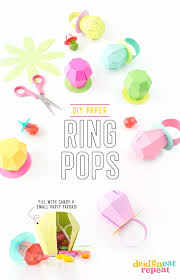 ring pop boxes diy ring pop treat boxes