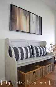 Church Pew Home Decor 363 Best Benches U0026 Ottomans Images On Pinterest Entryway Ideas