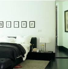 decoration des chambres de nuit déco chambre noir et blanc et gris idées chic deco cool