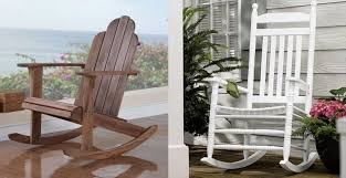 Furniture Wood Rocking Chair Wonderful Rocking Chair At Modern Interior