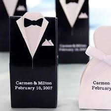 personalized wedding favor boxes personalized formal wear tuxedo dress favor boxes 100 count