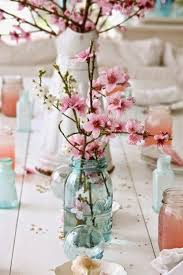 theme wedding centerpieces 32 beauty of a cherry blossom theme party wedding centerpieces