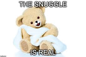 Snuggle Meme - grin and bear it imgflip