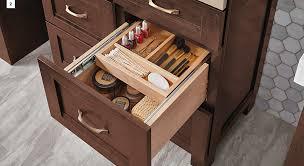 Tiered Bathroom Storage 4 Bathroom Storage Solutions To Simplify Your Kraftmaid