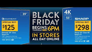 black friday 2017 ad four advertised black friday tv deals released