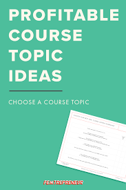 5 fail proof strategies for finding your profitable course topic