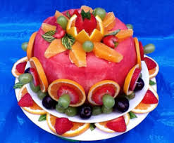 Watermelon Cake Decorating Ideas Cut And Decorate A Watermelon To Look Like A Cake I Want To Make