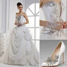 silver wedding dresses silver wedding wedding dress with silver accents 2029238