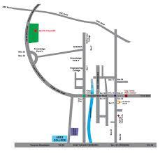 Noida Metro Route Map by Supertech Sports Village Location Map Sports Republik