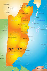 Blank Map Of Belize by 122 Belize Map Vector Cliparts Stock Vector And Royalty Free