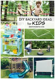 Kid Backyard Ideas Diy Backyard Ideas For Simplykierste