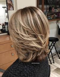 shoulder length hair feathered on the sides the sides 80 best modern haircuts and hairstyles for women over 50 brown