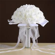 wedding flowers limerick wholesale white bouquets handmade flowers rhinestones
