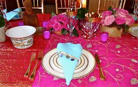 Indian Themed Party Decorations - table decorations for indian dinner party home decor 2017
