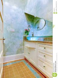 beautiful powder rooms small beautiful blue bathroom powder room with blue sink and