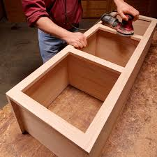 how to build a base for cabinets to sit on frame cabinet plans and building tips family handyman
