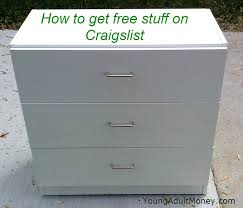 Craigslist Desks How To Get Free Stuff On Craigslist Young Money