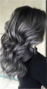 coloring gray hair with highlights hair highlights for soft smokey silver grey highlights on dark hair hair colors