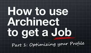 How To Upload Resume To Linkedin How To Use Archinect To Get A Job Part 1 Optimizing Your Profile