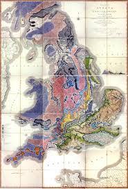 York England Map Geology Rocks