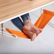 foot elevation under desk the fuut hammock will keep your feet elevated while you work
