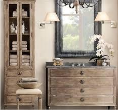 The  Best Restoration Hardware Bathroom Ideas On Pinterest - Bathroom vanities with tops restoration hardware