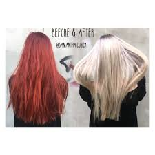 colour change to hair olaplex color change
