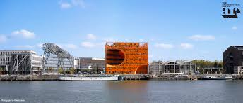roland home theater the orange cube by jakob macfarlane lyon france buildings