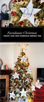 farmhouse inspired tree tree challenge