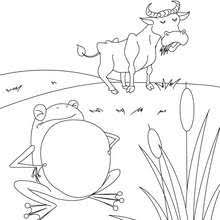 the lion and the mouse coloring pages hellokids com