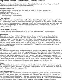 Education Resume Examples by Resume Templates In Spanish