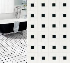 floor tile black and white house web