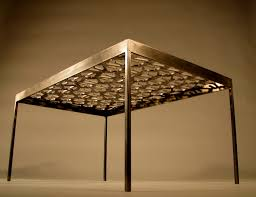Recycled Home Decor Ideas Swarf Table Archives Tmrnyc Total Metal Resource Inc