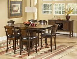dining tables 7 piece counter height dining set with butterfly