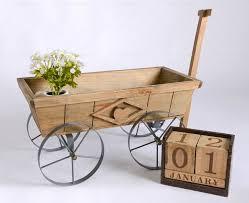 rent wooden wheel cart dreamscaper home wedding decor