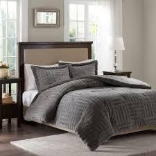 Faux Fur Duvet Cover Queen Buy Fur Comforter From Bed Bath U0026 Beyond