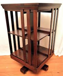 Rotating Bookcases Mahogany Revolving Bookcase John Danner From Front Porch On Ruby Lane