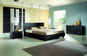 bedroom beautiful blue beige black wood luxury design amazing