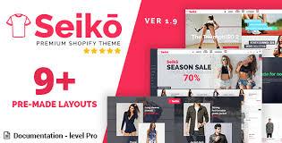 shopify themes documentation seiko shopify theme 7dana ecommerce templates