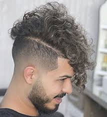 taper fade curly hair taper fade haircuts for men 56 cool tapered hairstyles