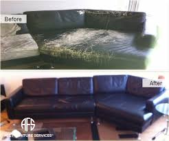 Leather Sofa Dyeing Service Gallery Before After Pictures All Furniture Services Part 18