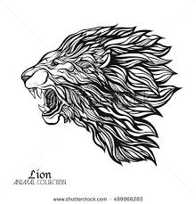 lion print lion print stock images royalty free images vectors shutterstock